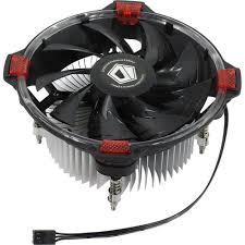 <b>Кулер</b> для процессора <b>ID</b>-<b>Cooling DK</b>-<b>03 Halo</b> Intel Red — купить в ...
