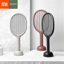 <b>Xiaomi Mijia Youpin</b> SOLOVE P1 Electric Mosquito Swatter Strong ...
