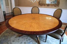 7ft dining table: finely crafted mahogany and satinwood  inch table striking color contrast and intricate inlays