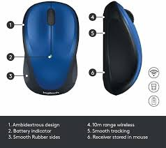<b>Logitech M235 Wireless</b> Optical <b>Mouse</b> - <b>Logitech</b> : Flipkart.com