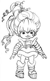Small Picture Rainbow Brite Coloring Pages esonme
