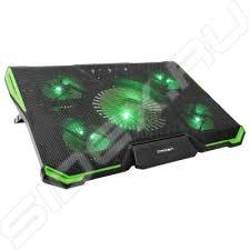 """Подставка для ноутбука до 19"""" (<b>CROWN CMLS</b>-<b>k332</b>) (зеленый ..."""