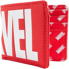 Купить <b>Кошелек</b> Funko <b>Marvel</b>: Logo Red Bi-Fold Wallet ...