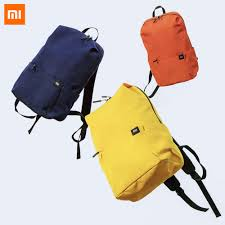 Новейший цветной мини <b>рюкзак Xiaomi</b> 8 видов цветов уровень ...