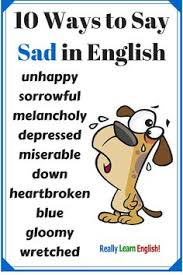 english learning and learning english on pinterestways to say sad in english  learn to speak english  really learn english