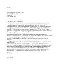 inspector cover letter  seangarrette coassistant pre school teacher cover letter   inspector cover letter