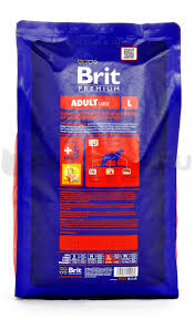 <b>Сухой корм Brit Premium</b> by Nature Adult L для взрослых собак ...