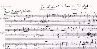 Image result for brahms johannes - variations on a theme by haydn op.56a