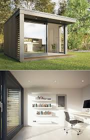 backyard offices by british company pod space big garden office ian
