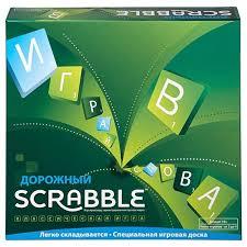 <b>Настольная игра Mattel Scrabble</b> Дорожный CJT18 — купить по ...