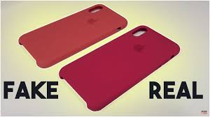 iPhone X <b>Real</b> VS Fake <b>Silicone</b> Case - How to tell - YouTube
