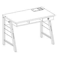 <b>Письменный стол Cilek</b> Trio без тумбы - купить в интернет ...