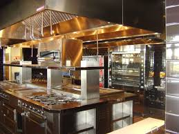 kitchen design entertaining includes: wwwstainlesssteeltilecom likes this commercial kitchen design for resturants met led