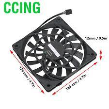 CCing <b>F12012</b> Computer CPU Cooling <b>Fan Ultra Thin</b> Desktop ...
