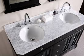 55 inch double sink bathroom vanity: imperial  double sink vanity set in espresso design element