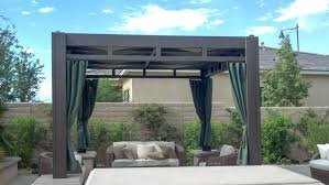 patio cover curtains freestanding gazebo with fabric patio cover palm desert ca