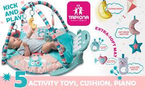 Tapiona Large Baby Play Gym, Kick and Play Piano ... - Amazon.com