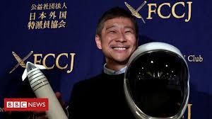 Japanese billionaire seeks <b>eight</b> people to fly to moon - BBC News