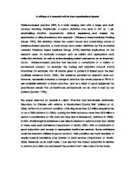A critique of a research article from a professional journal     Page   Zoom in