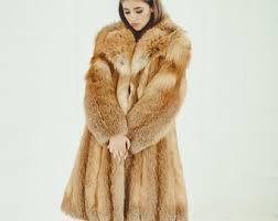 <b>Fox</b> fur <b>coat</b> | Etsy
