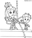 Раскраски для детей распечатать бесплатно фиксики