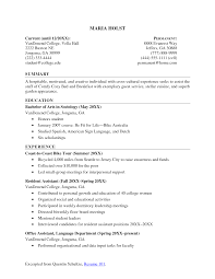psychology graduate school resume 8 graduate school resume high resume for grad school application resume objective for graduate high school resume sample no work experience