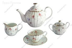 <b>Чайный сервиз</b> | <b>Чайный сервиз</b> фарфоровый 15 предметов ...