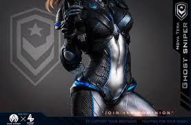 Боевая красота – представлена <b>фигурка</b> Новы из <b>StarCraft</b> 2 ...