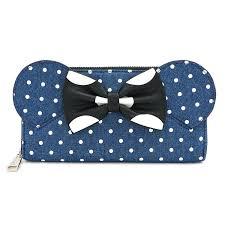 <b>Кошелек</b> Loungefly: <b>Disney</b>: <b>Minnie Mouse</b> Denim Wallet