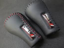 Universal TRD PU <b>Leather Gear Shift Knob</b> Gearshift Shifter Stick ...