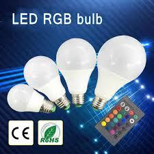 <b>RGB E27 LED</b> High Power Bright Bulbs Lamp <b>20W</b> 9W 30W 220V ...