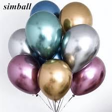 <b>Glossy Metal Pearl</b> Latex Air Balls (10pcs)