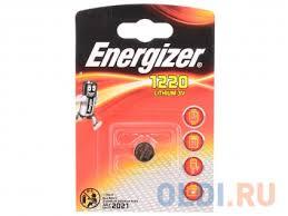 <b>Батарейки Energizer Lithium CR1220</b> 1шт. (E300163600)(611321 ...