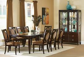 Transitional Dining Room Tables Espresso Finish Transitional Dining Table W Options