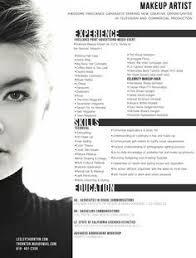 makeup artist resume   google search   resume ideas   pinterest    makeup artist resume