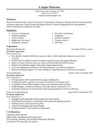 inventory management resume sample cover project manager resume control resume sample inventory specialist resume