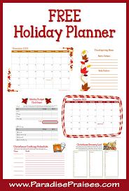 printable holiday planner 2014 printable holiday planner com