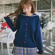 Sweet Love Embroidery Sweaters Female <b>Autumn New Korean</b> ...