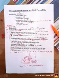 why american expats like me should never become english teachers german and english language editing schwarzwalder kirschtorte black forest cake funny recipe corrections