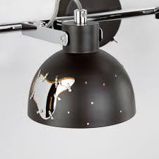 Настенный светильник <b>Eurosvet 20069/2</b> черный - купить в ...