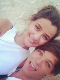 Eleanor Calder and Louis Tomlinson are loved-up - Eleanor-Calder-and-Louis-Tomlinson
