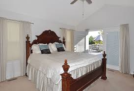 spacious master bedroom with vaulted agreeable vaulted ceilings