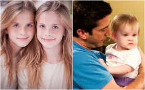 tv babies then and now like friends baby emma noelle and cali sheldon tv babies