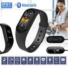 <b>Original NEW M5 Smart</b> Bracelet Bluetooth Sport Fitness Tracker ...