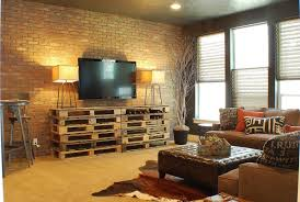 exposed brick living room decoration ideas cheap fancy brick living room furniture