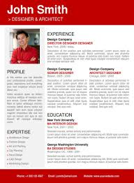 professional resume template   trendy resumesred