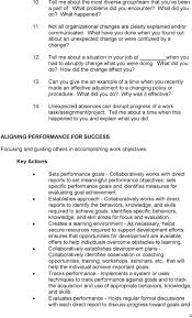behavioral situational interview question bank table of contents tell me about a situation in your job at when you had to abruptly change what