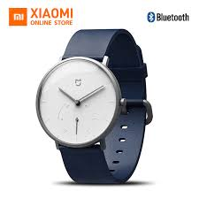 Original Xiaomi <b>Mijia Smart Quartz Watch</b> Waterproof Pedometer ...