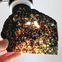 Метеорит ** touat <b>005</b>, лунный felds. брекчия ** 2.704 г разрез ...