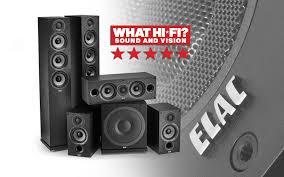 журнал «What Hi-Fi?» даёт «пять звёзд» комплекту <b>ELAC</b> Debut 2.0
